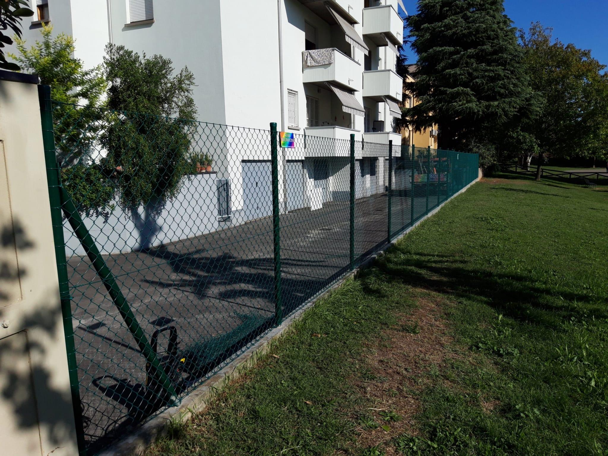 recinzioni con rete metallica