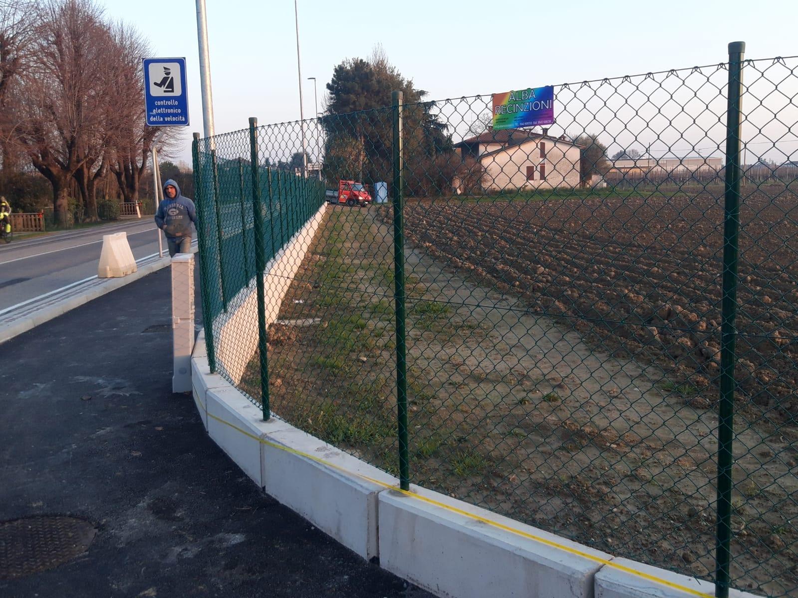 recinzioni con muretto